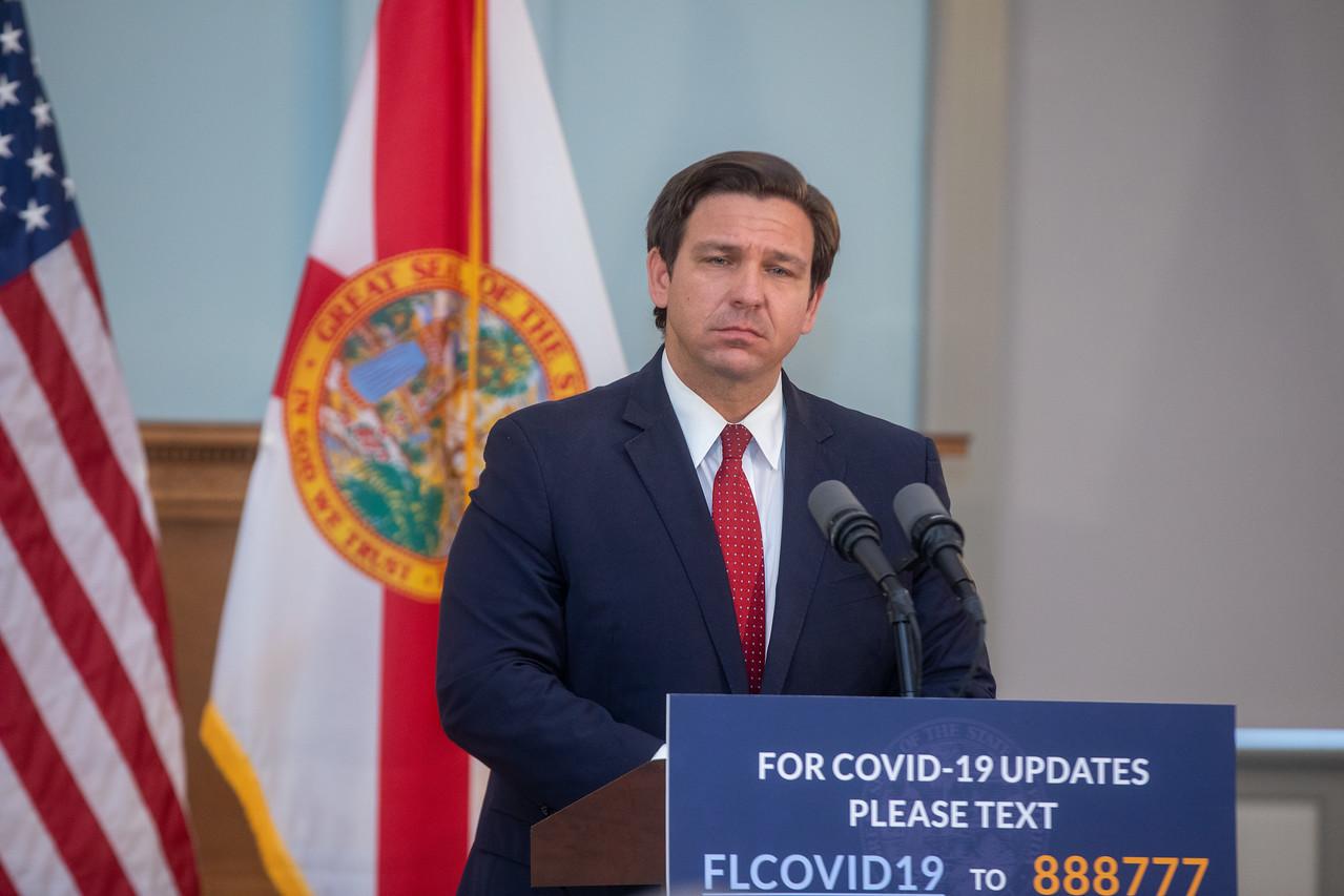 Governor DeSantis of Florida