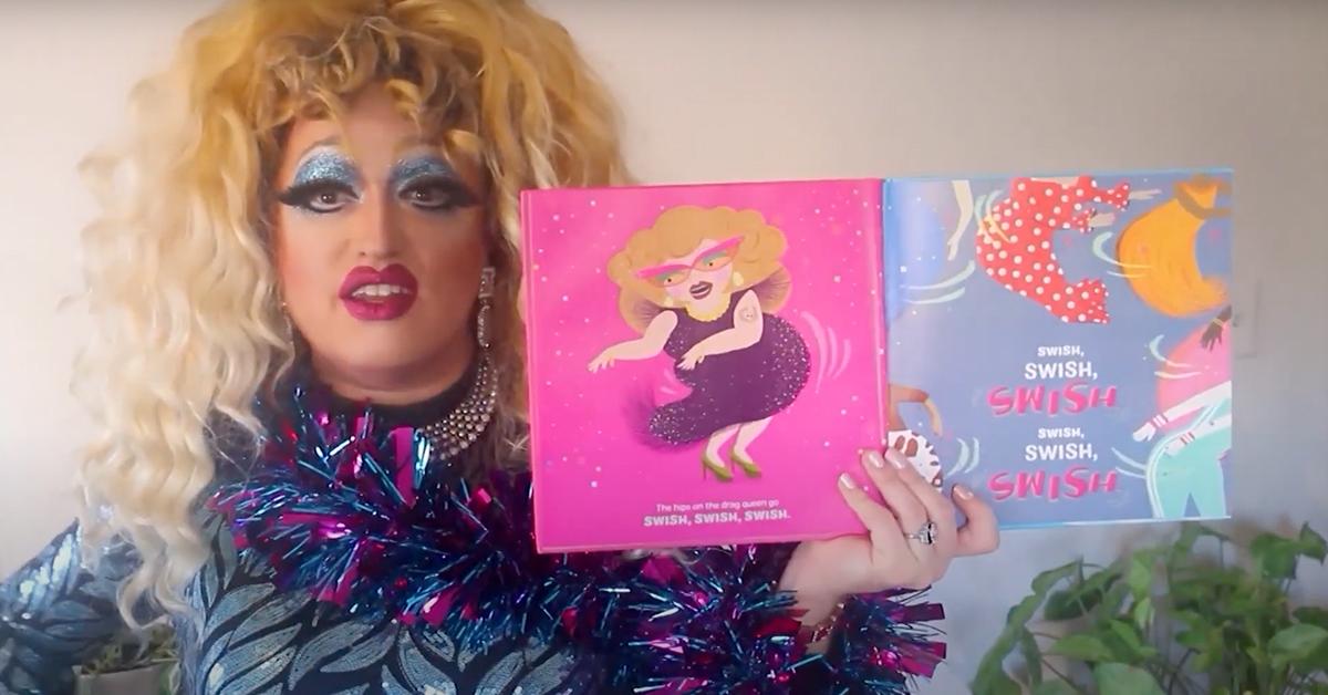 Drag queen reads new children's book